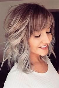 21 Popular Fringe Bangs Hairstyles for Women | Bangs, Hair ...