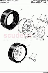 Aston Martin Db7  1995  Wheels And Tyres Parts