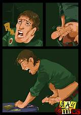 Cartoon porn caught masturbating