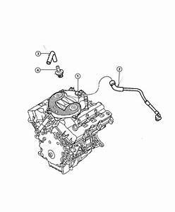 2003 Chrysler Sebring Hose  Cylinder Head To Intake