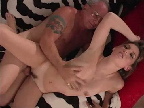 Lucky Grandpa Getting Tiny And Cums On Her Face #Pussy