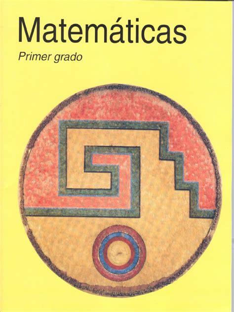 foto de Libro Del Alumno Primer Grado Matemáticas Plan 1993