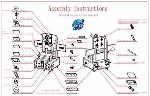 Manual Universal Pcb Test Welding Jig Fixture