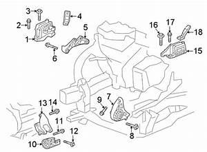 Chevrolet Traverse Engine Mount  Motor  Bearings