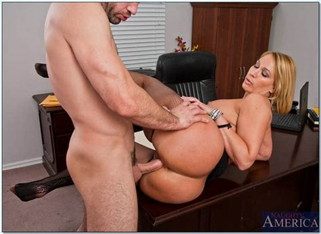 #Mature #Office #Boss #In #Stockings #Mellanie #Monroe #Drilled
