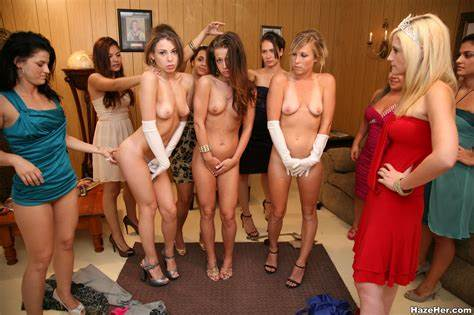 Cute Dirty In Group Pigtails Bisexual Classroom Babes Jeering Badly