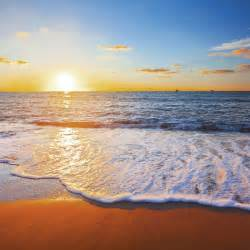 Bilder Am Strand : artland glasbild sonnenuntergang meer landschaften strand foto online kaufen otto ~ Watch28wear.com Haus und Dekorationen