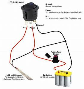Wiring 12v Switch To Led Controller