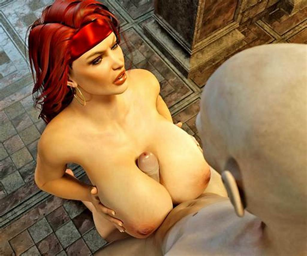 #3D #Rape #For #Huge #Boob #Brunette #And #Red #Hair #Slut #At #Xxx #3D