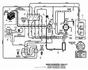 Craftsman Riding Lawn Mower 18hp Engine Wiring Diagram