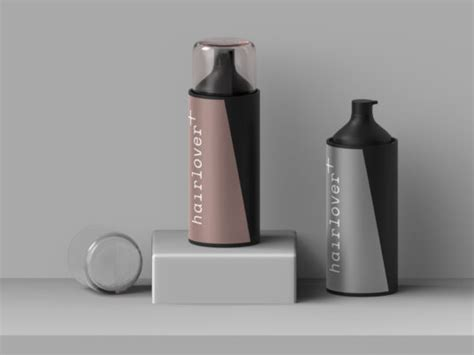 Coming in 5000 x 3750 pixels resolution, the psd mockup can be used for branding projects with elegant designs that match the quality of the bottle, or for decorative. Bottles of Hair Spray/Foam Mockup | Mockup World