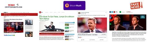 News corp is a network of leading companies in the worlds of diversified media, news, education, and. Bitcoin Rush Review, SCAM App Exposed! | Scam Crypto Robots