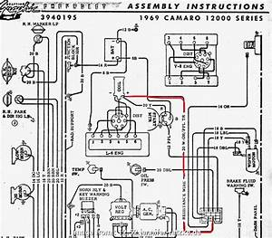 Electrical Wiring Diagram  Gto 52 Simple 1968 Camaro Dash