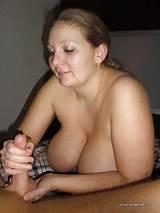 Big mature tit hand job movie