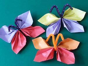 Schmetterlinge Basteln Zum Aufhängen : schmetterlinge basteln basteln gestalten ~ Watch28wear.com Haus und Dekorationen