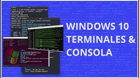 The first thing we have to do is go to the official website of the project and download the latest version. Consolas y Terminales en Windows 10 | Cmder, Git Bash ...