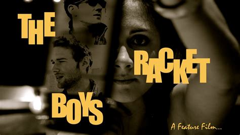 1,135 likes · 1 talking about this. THE RACKET BOYS: A feature film... by Brandon Alexander Willer — Kickstarter