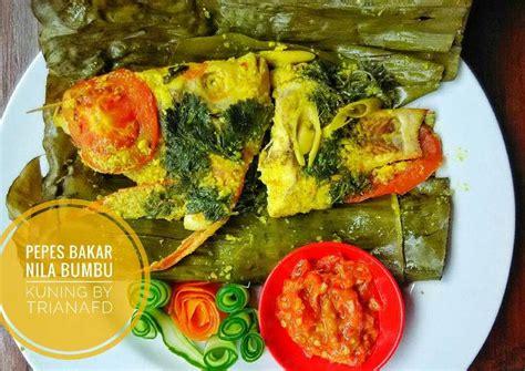 Resep ikan bakar bumbu padang yang enak. Resep Pepes Bakar Ikan Nila Bumbu Kuning(PR_Ikan) oleh Triana Fitria Dewi - Cookpad