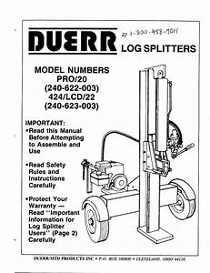 Champion Log Splitter Parts Diagram