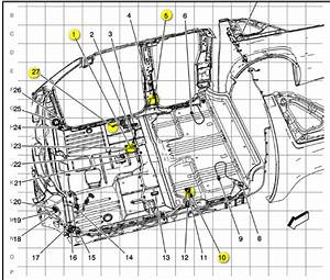 Does Anyone Have A Wiring Diagram From All The Ground Points On The Floor Of A 2008 Yukon Denali