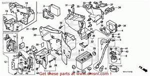 Honda Vt600c Shadow 1992  N  Italy    Kph Battery