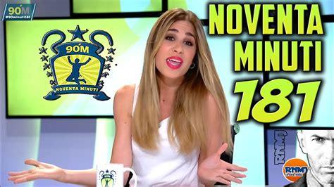 90 minuti 181 Real Madrid TV María Gómez (15/06/2017