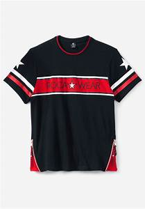 Roc Stock Chart Roc Side Rock Short Sleeve Tee By Rocawear Big And
