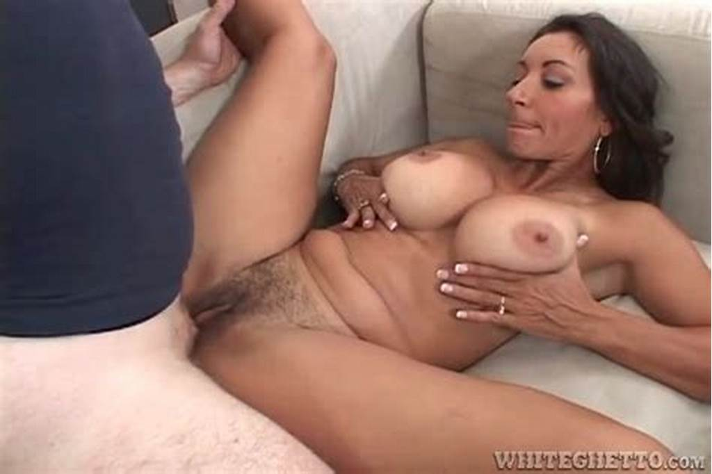 #Hairy #Milf #Pussy #Filled #With #Thick #Creampie