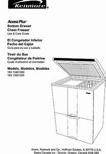 Kenmore 183 134013 Users Manual