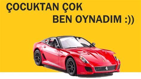 Die unverkennbare durchgestylte karosserie dieses traumautos der achtziger jahre wurde detailgetreu. Ferrari 599 GTO RC Car - Oyuncak Ferrari 599 GTO - YouTube