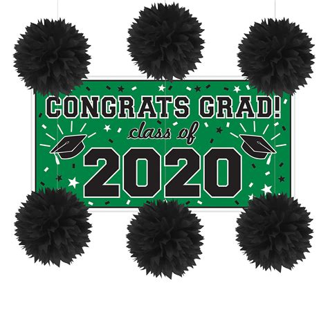 You will learn here in details of how you can make brilliant. Party City Congrats Grad Graduation Wall Decorating Kit - Walmart.com - Walmart.com