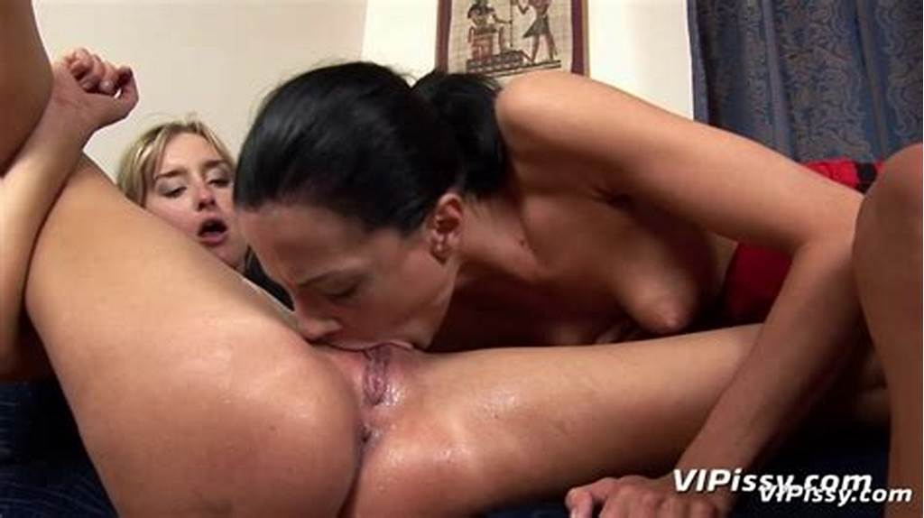 #Naughty #Lesbian #Girls #Spray #Piss #Indoors #And #Lick