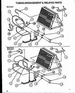 Amana Bcea48t002b  P1135002c Central Air Conditioner Parts