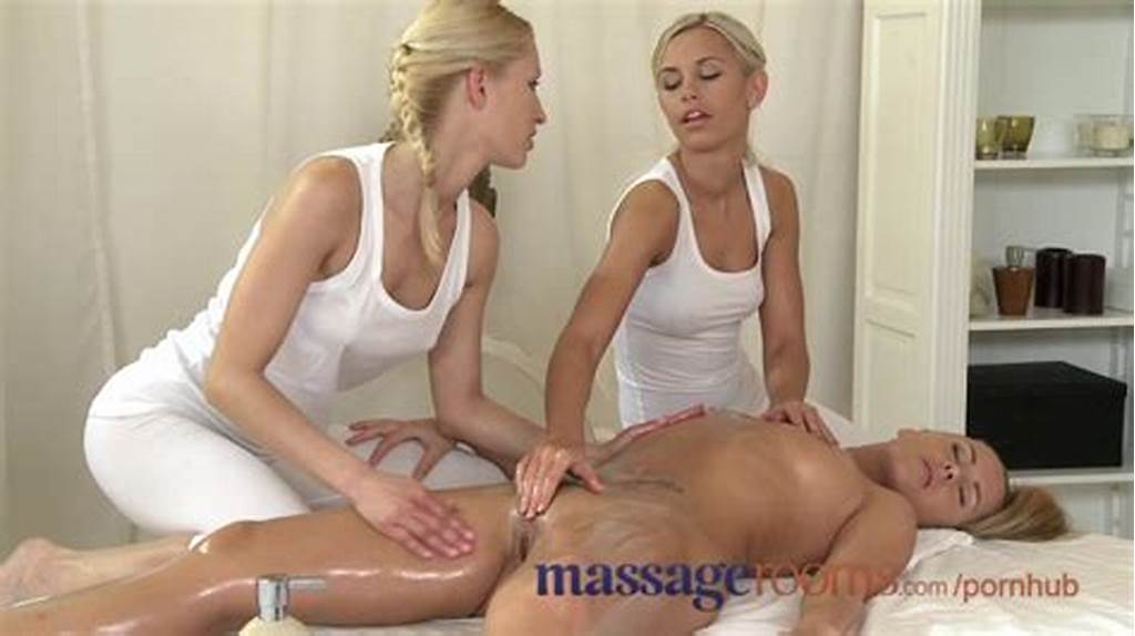 #Massage #Rooms #Raunchy #Lesbian #Threesome #After #Sensual #Oil