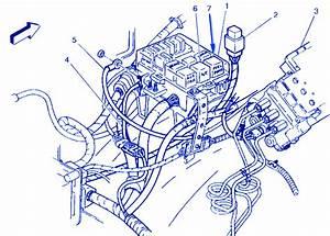Chevy Diesel 3500 2001 Engine Fuse Box  Block Circuit