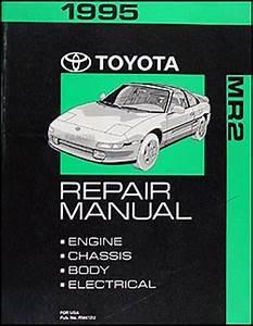 1995 Toyota Mr2 Repair Shop Manual Original