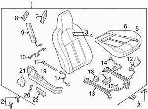 Mazda Mx-5 Miata Seat Cover  Cloth