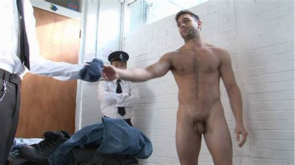 #Spy #Cam #Dude #Naked #Convicts #Strip #And #Search!