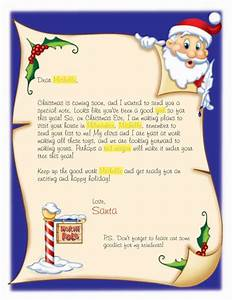 letters from santa claus in searching for a letter for With simple letter from santa