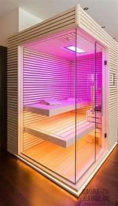 Sauna Für Badezimmer : sauna und mehr polarfichte sauna f r zuhause chalet ~ Watch28wear.com Haus und Dekorationen