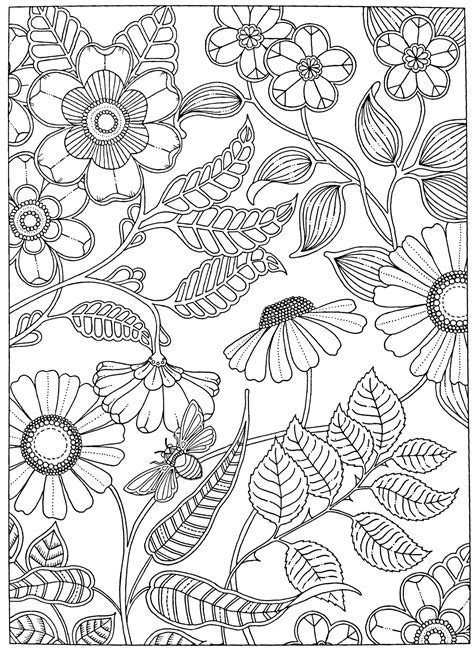 Free adult coloring page Secret Garden (With images