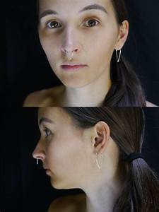 Teardrop Septum Rings  20 And 30 Mm Height  Wear Them As A