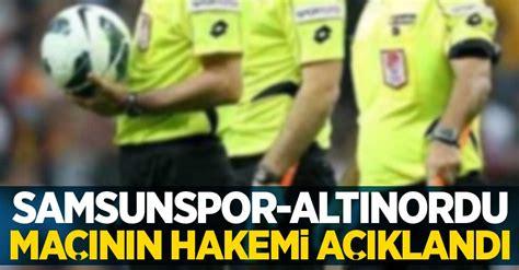 Altınordu is going head to head with samsunspor starting on 18 may 2021 at 15:00 utc. Samsunspor - Altınordu maçının hakemi açıklandı