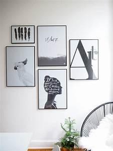Schwarz Weiß Wandbilder : die besten 25 wandbilder wohnzimmer ideen auf pinterest wohnzimmer ideen wohnzimmer regale ~ Watch28wear.com Haus und Dekorationen
