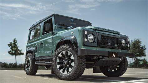 In the early 1960s both the royal marines, then largely based aboard commando carriers, and the british army required a vehicle that could be carried by air to replace the austin champ. Would You Spend $235K On An LS-Swapped Land Rover Defender ...