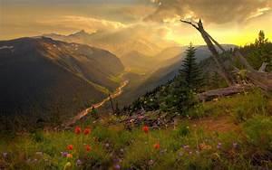 Scenery, Beautiful, Mountain, Wallpaper, Beautiful, Scenery