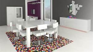 Table Carrée 120x120 : table carr e design avec rallonges veliki mobilier moss ~ Teatrodelosmanantiales.com Idées de Décoration