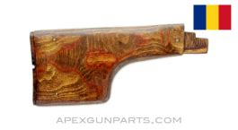 This customization, as in my other post, involved no mods or changes to the rear trunnion or receiver. Romanian RPK Club Foot Buttstock, Stripped, *Good*