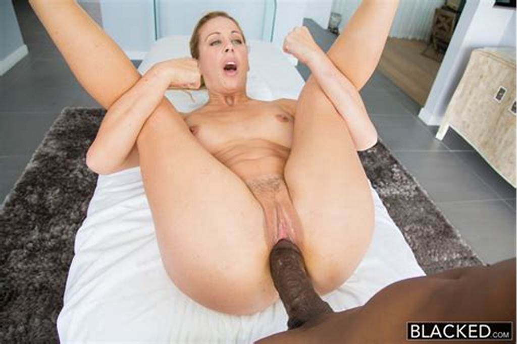 #Hot #Southern #Blonde #Cherie #Deville #Takes #Big #Black #Cock