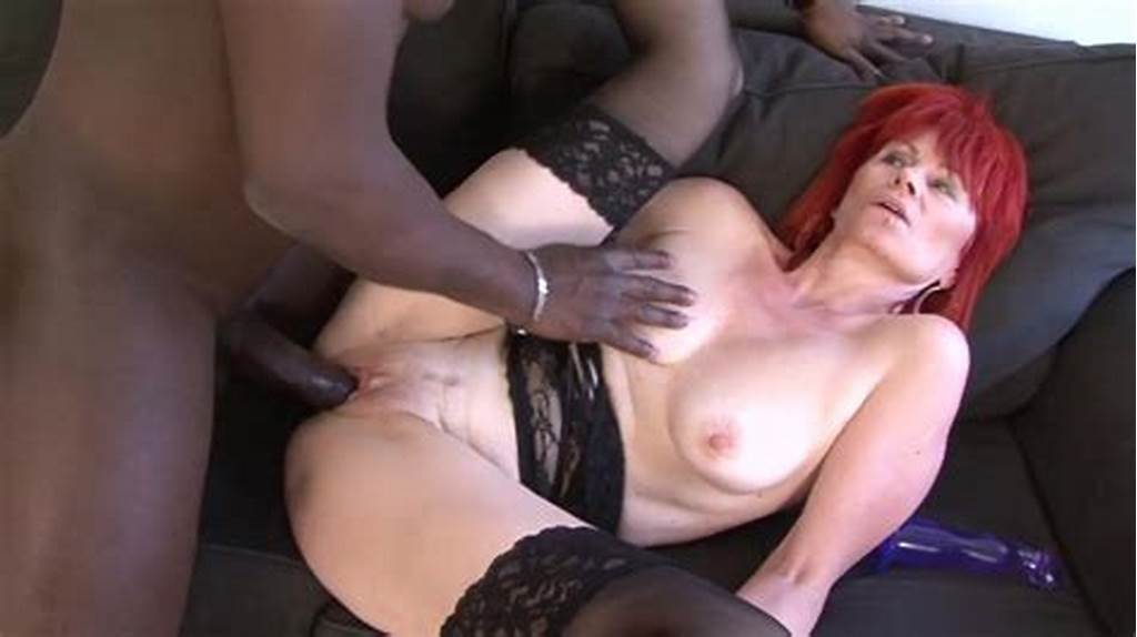 #Mature #Redhead #Loves #His #Bbc #Better #Than #Her #Dildo